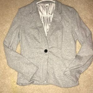 Women's Gray Light cotton Blazer